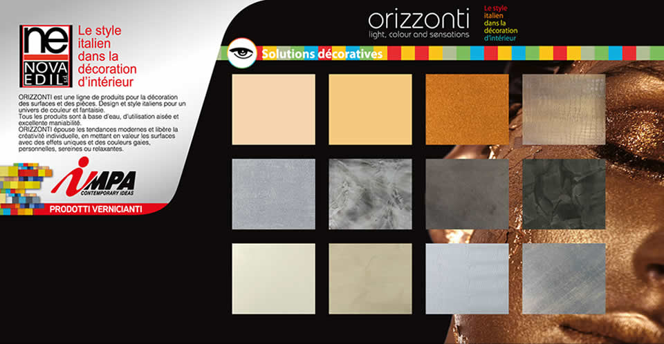 Peintures : Impa - Orizzonti